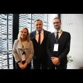 Spotkanie z Marią Belarminą Diaz Aguado oraz Javierem Vila Ferrero. fot. Patryk Pyrlik / UMWS