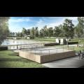 Wizualizacje - basen w Żorach-Roju / UM Żory