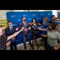 Podsumowanie działań Zarządu Województwa Śląskiego podjętych w związku z koronawirusem. fot. Tomasz Żak / UMWS